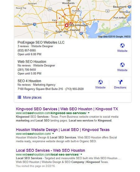 Kingwood SEO Company | SEO Services Kingwood TX | SERPSniper